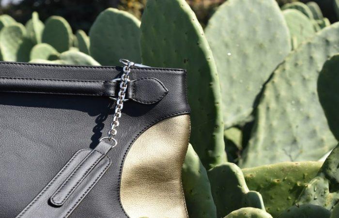 Desserto handbag made from cactus leather