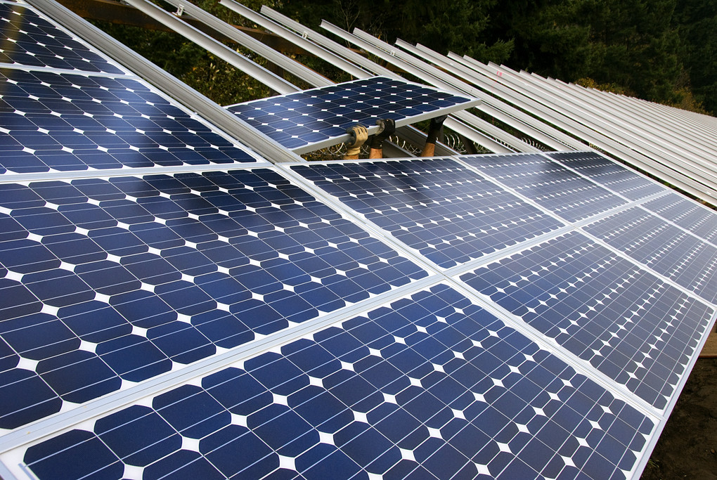 Preventing climate tipping points: installing solar panels