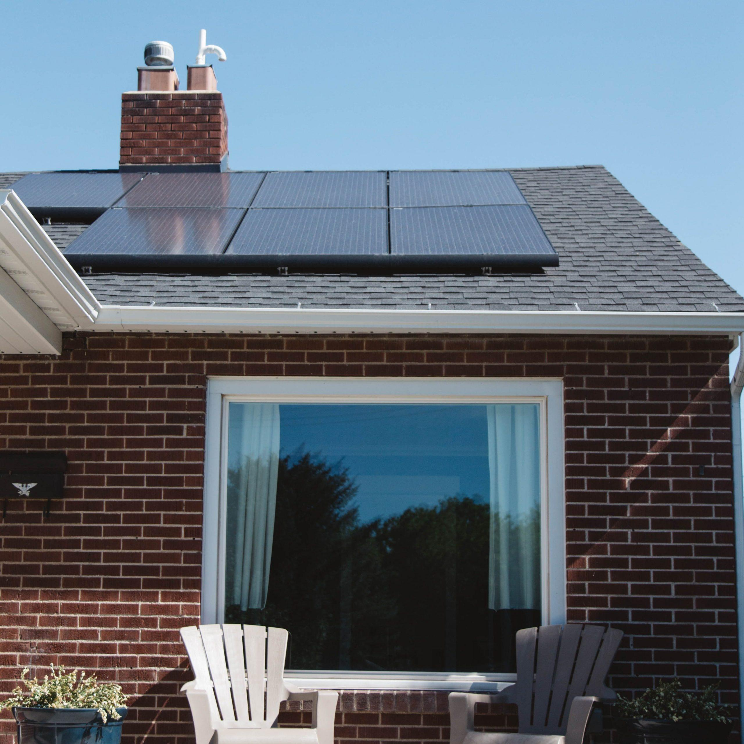 solar panels are good for sustainable housing