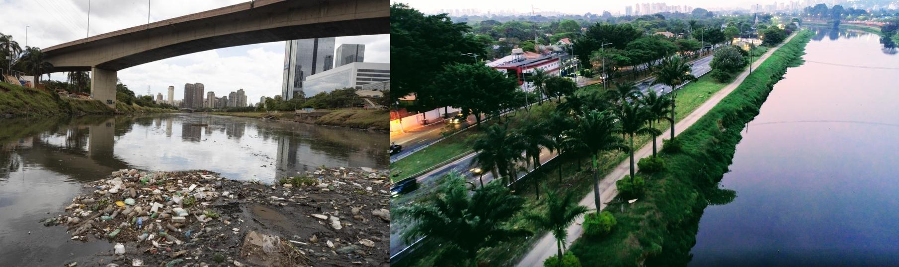 Clean rivers help to make a sustainable city.