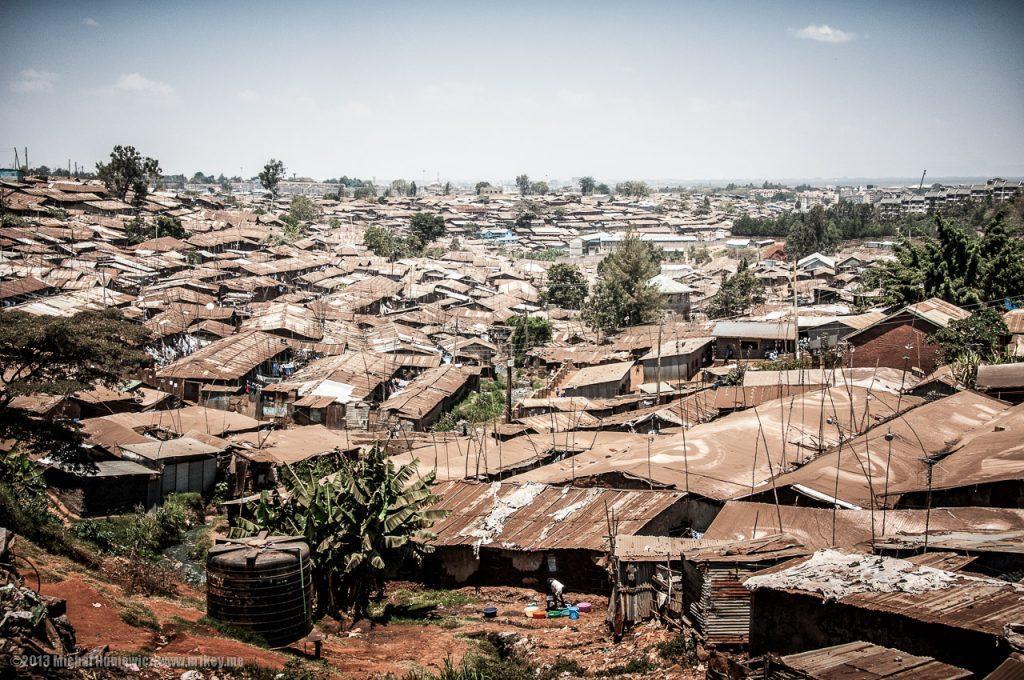 Urban slums in Africa