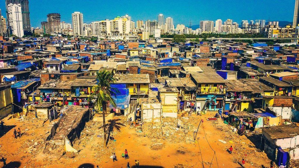 Urban slums in India