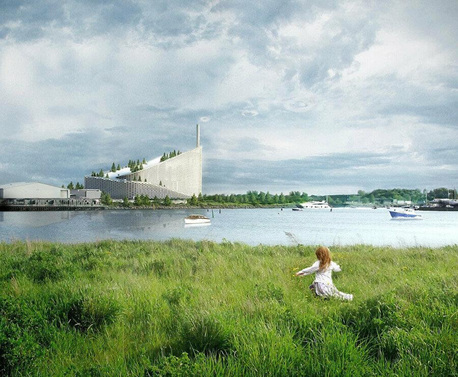 Copenhill is a sustainable power plant.