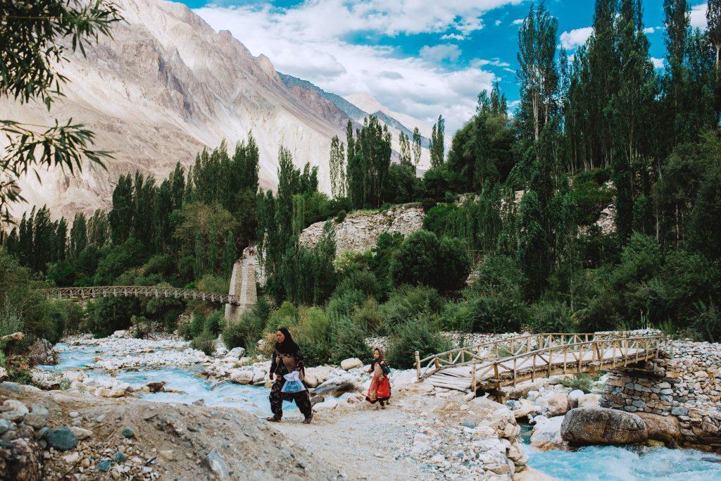 Ladakh has experienced globalisation.