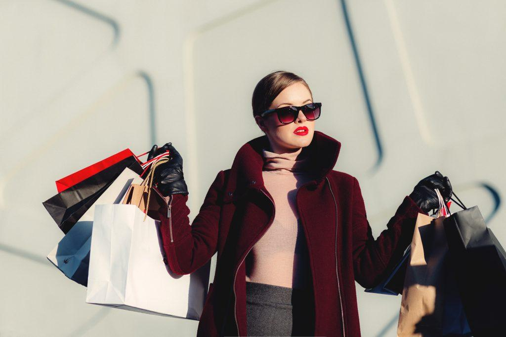 Shopping sprees are a kind of overconsumption.